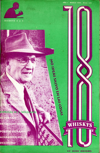 Tapa de la revista 18 Whiskys