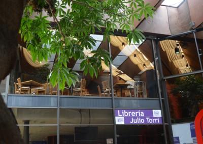Librería Julio Torri y Restaurante Azul y Oro