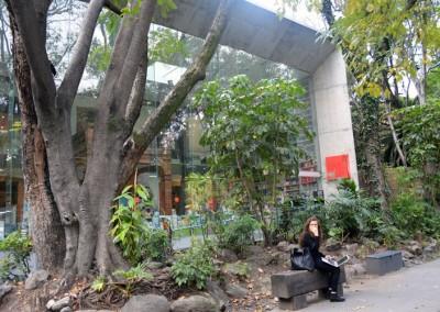 Fachada del Centro  Cultural Elena Garro