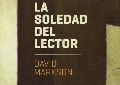 La soledad del lector, David Markson / La bestia equilátera