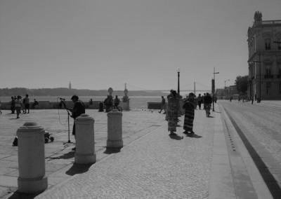La Praça do Comércio y el Río Tajo / Claudia Sánchez Rod
