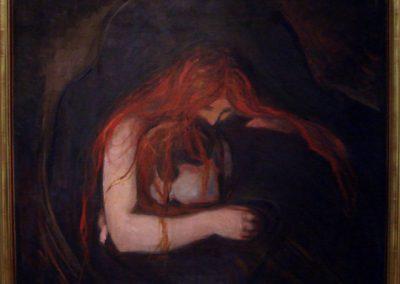 El vampiro, Edvard Munch