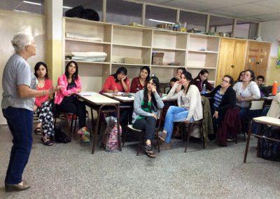 Alumnos entrevistan a Etherline Mikêska