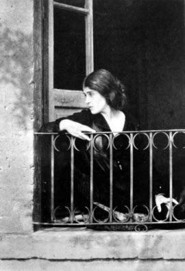 Tina Modotti por Edward Weston
