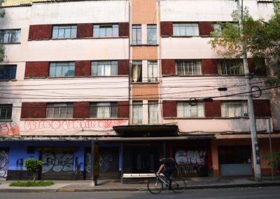 Fachada del edificio donde vivió Burroughs   Claudia Sánchez Rod