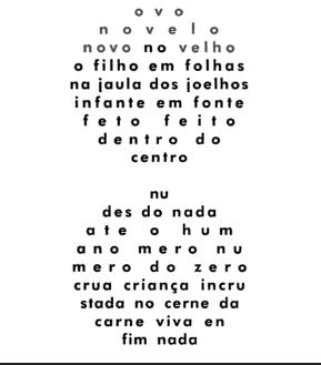 """""""Ovonovelo"""" de Augusto de Campos"""