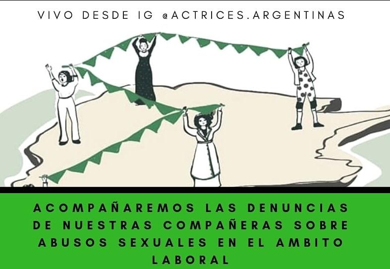 Pronunciamiento de Actrices Argentinas