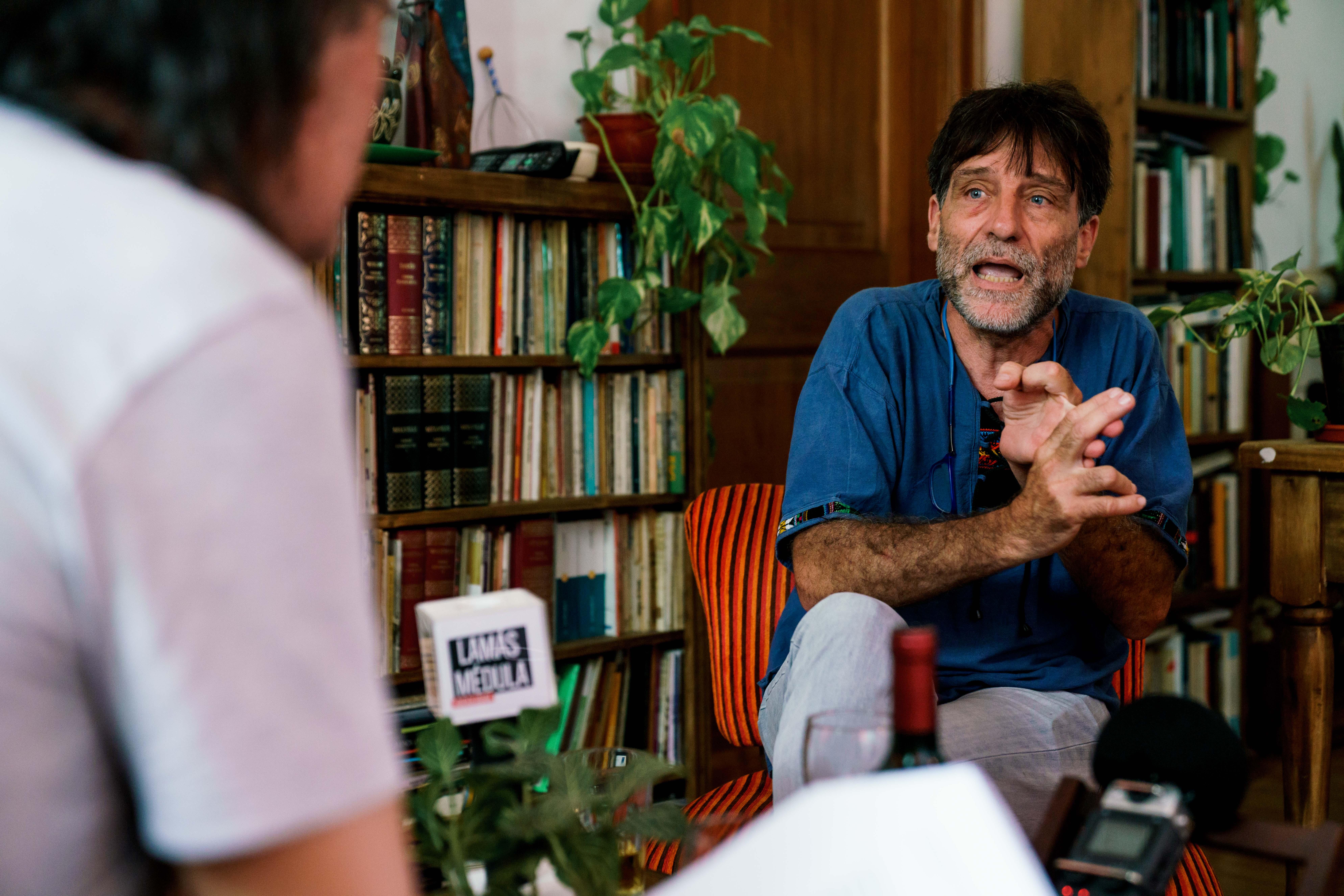 Eduardo Pavlovsky   Eduardo Misch   Susy Evans  Foto: A. Barragán
