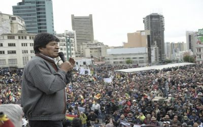 NUESTRA SOLIDARIDAD CON BOLIVIA