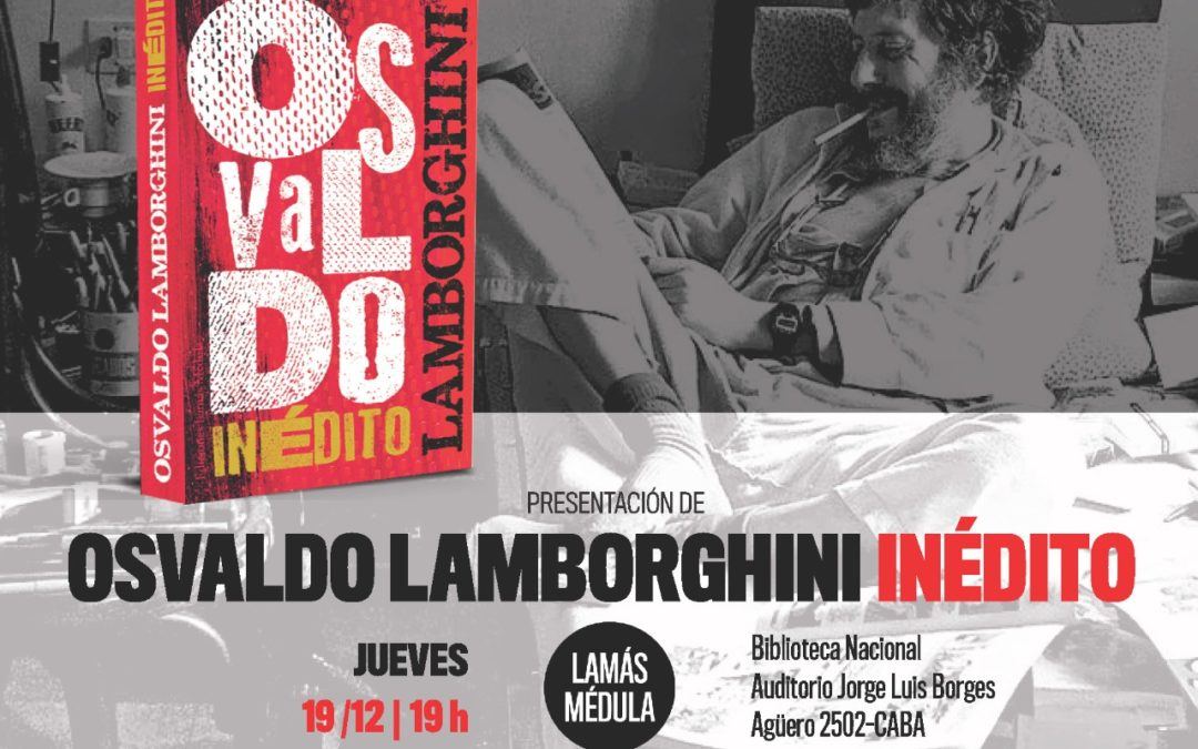 OSVALDO LAMBORGHINI INEDITO