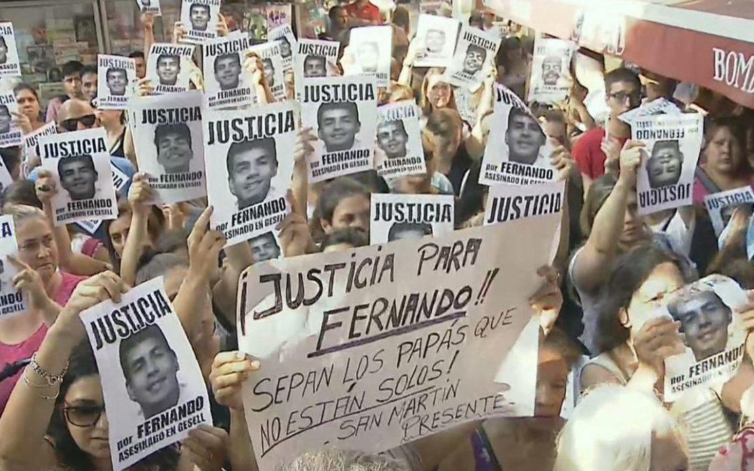 ALGUNAS NOTAS SOBRE EL ASESINATO DE FERNANDO EN VILLA GESELL